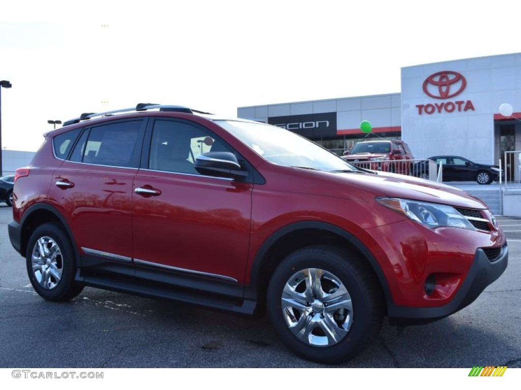 2015 Barcelona Red Metallic Toyota Rav4 Le 100327414