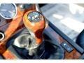 2000 BMW Z3 Black Interior Transmission Photo