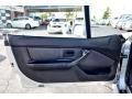 2000 BMW Z3 Black Interior Door Panel Photo