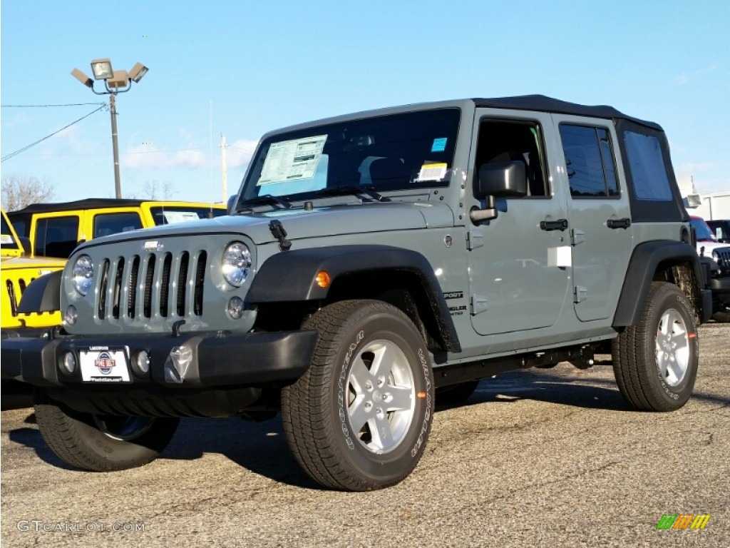 2015 Anvil Jeep Wrangler Unlimited Sport 4x4 100381160 Gtcarlot