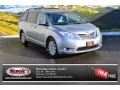 2012 Silver Sky Metallic Toyota Sienna Limited AWD  photo #1