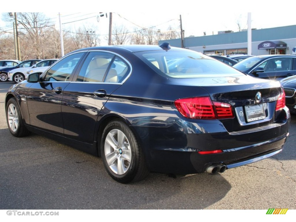 2012 deep sea blue metallic bmw 5 series 528i xdrive sedan. Black Bedroom Furniture Sets. Home Design Ideas