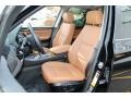 2015 BMW X3 Saddle Brown Interior Front Seat Photo