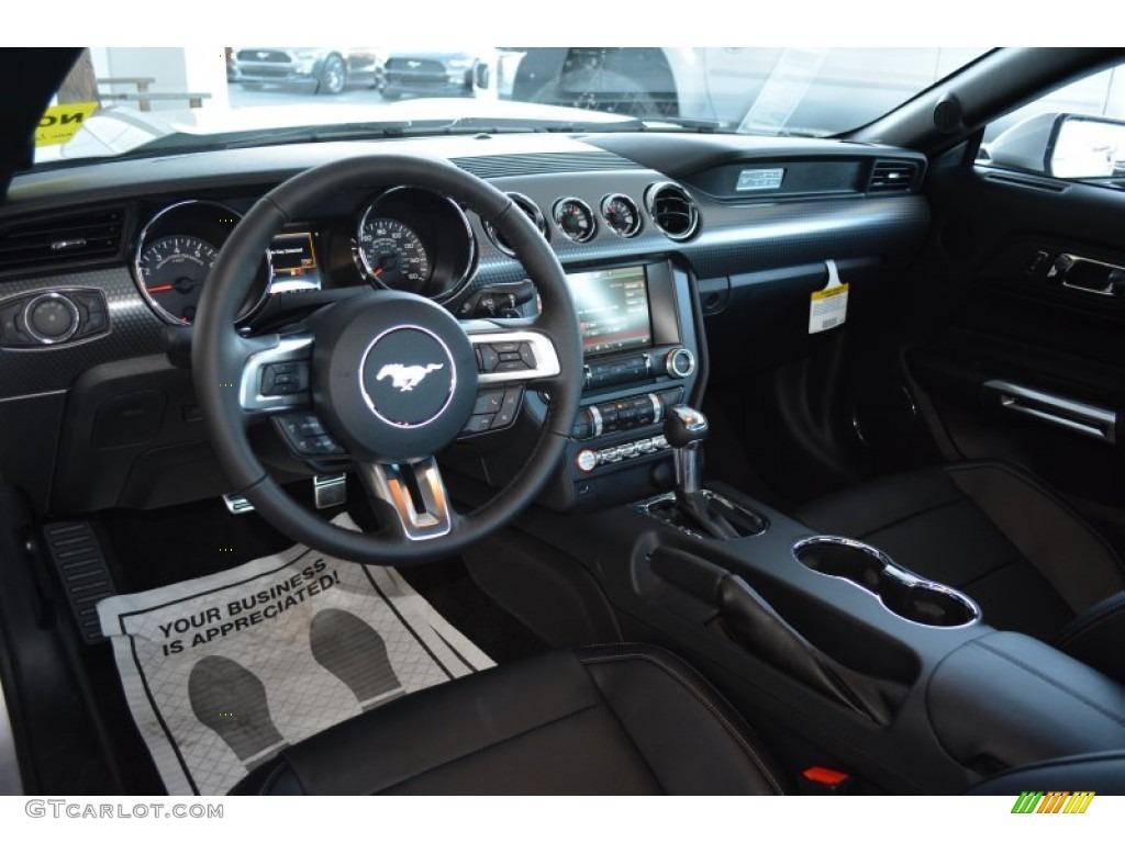 2015 Ingot Silver Metallic Ford Mustang Ecoboost Premium Coupe 100381626 Photo 6 Gtcarlot