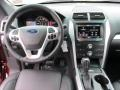 2015 Ford Explorer Charcoal Black Interior Dashboard Photo