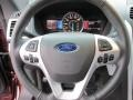 2015 Ford Explorer Charcoal Black Interior Steering Wheel Photo
