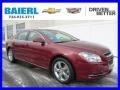 Red Jewel Tintcoat 2011 Chevrolet Malibu LT