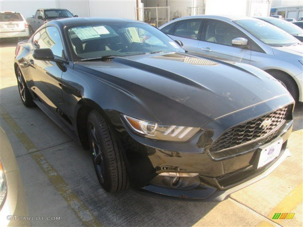 2015 Black Ford Mustang Ecoboost Coupe 100381351 Car Color Galleries