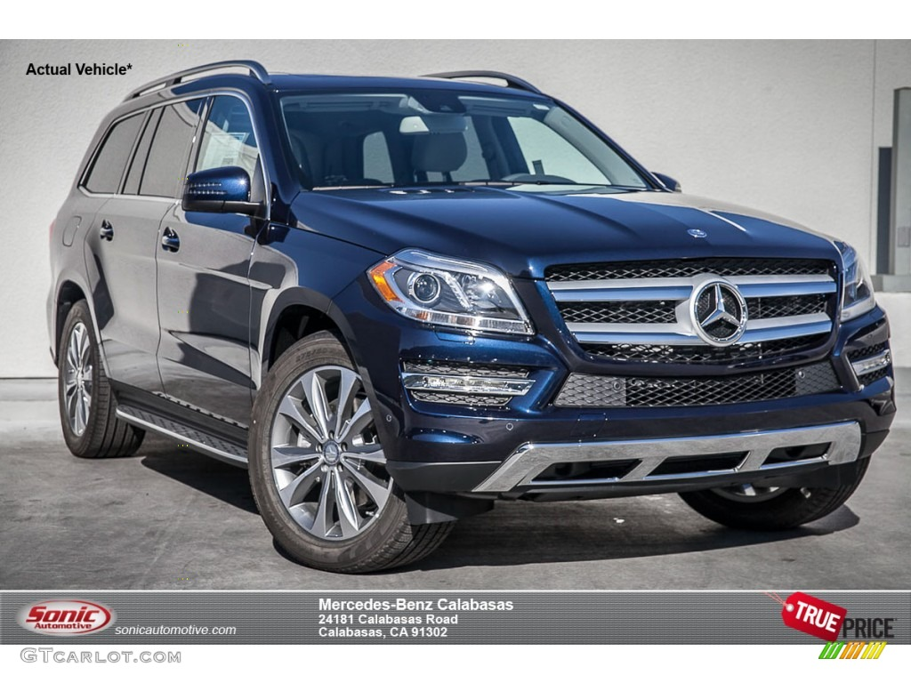 2015 lunar blue metallic mercedes benz gl 350 bluetec. Black Bedroom Furniture Sets. Home Design Ideas