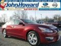 Cayenne Red 2015 Nissan Altima Gallery