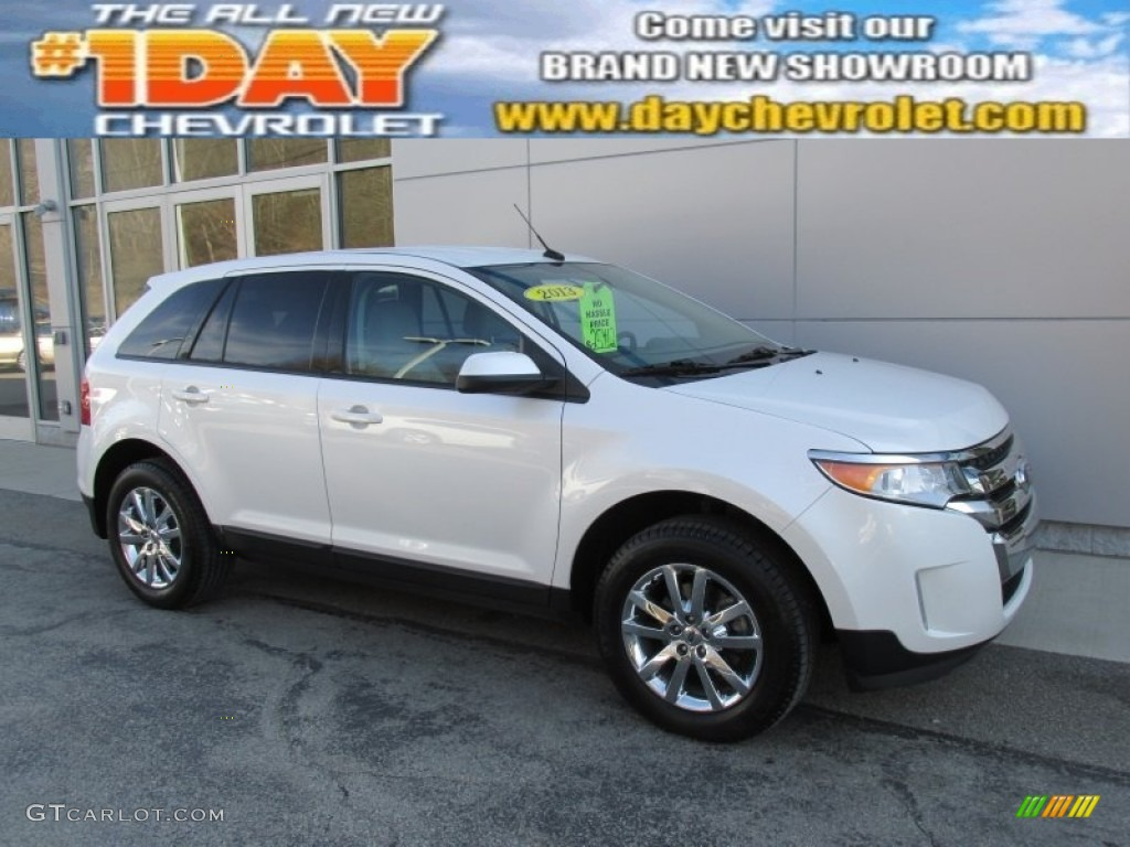 2013 white suede ford edge sel awd 100381247 car color galleries. Black Bedroom Furniture Sets. Home Design Ideas