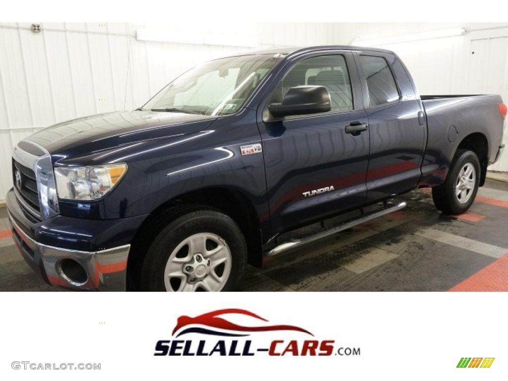 Nautical Blue Metallic Toyota Tundra