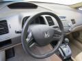 Ivory Steering Wheel Photo for 2007 Honda Civic #100444232