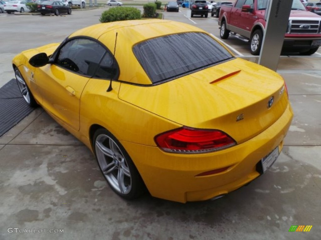 2011 Atacama Yellow Bmw Z4 Sdrive35is Roadster 100381938 Photo 5 Gtcarlot Com Car Color