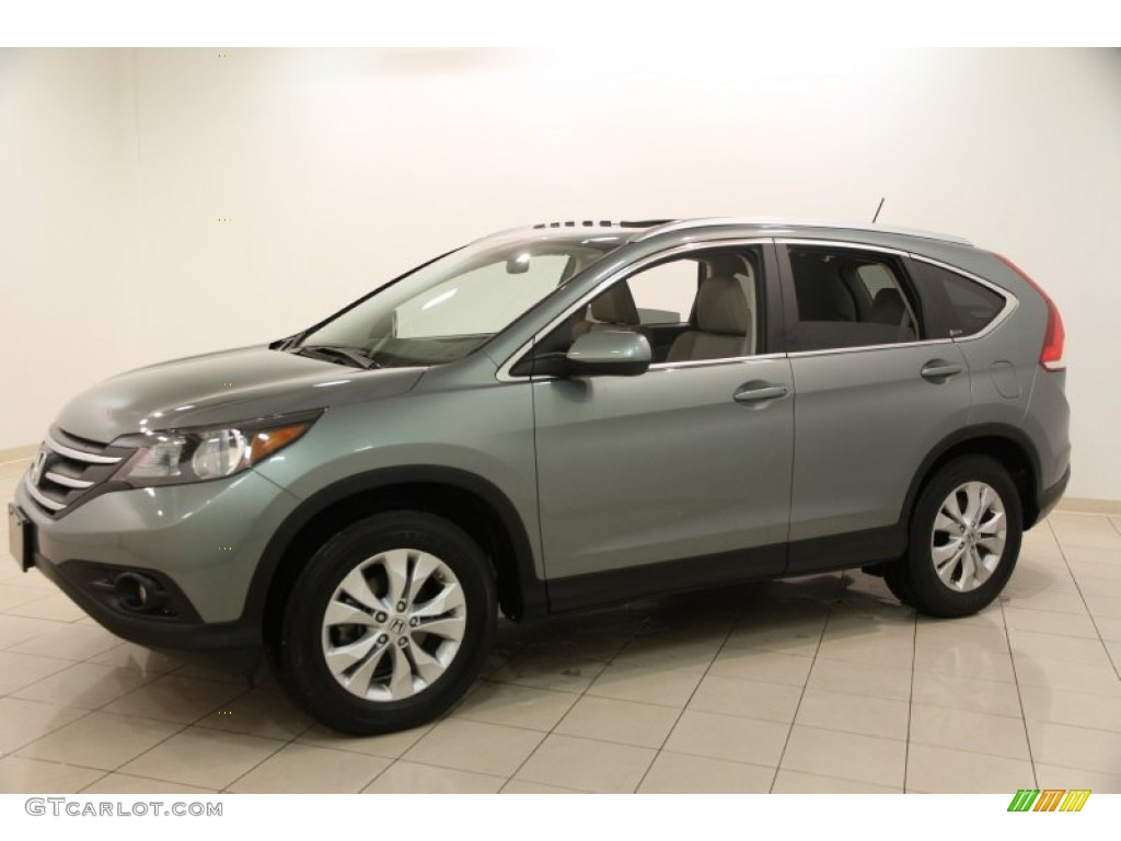 Opal Sage Metallic 2012 Honda CR-V EX-L 4WD Exterior Photo #100456787