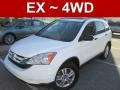 2010 Taffeta White Honda CR-V EX AWD  photo #1
