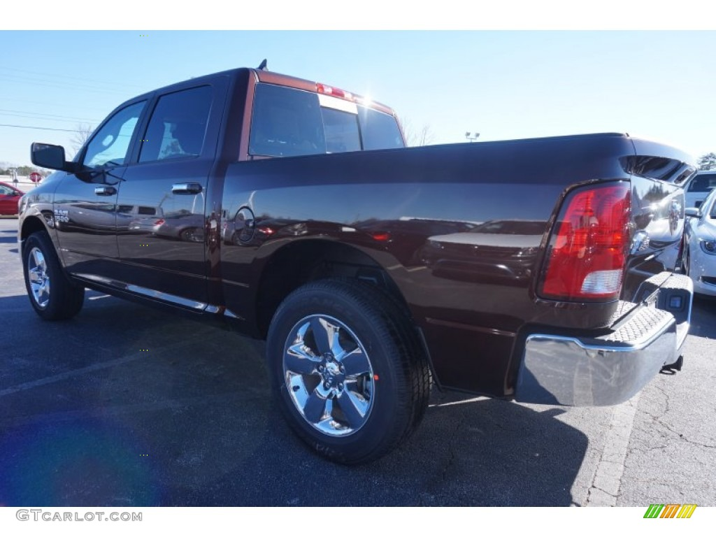 2015 1500 Big Horn Crew Cab - Western Brown / Canyon Brown/Light Frost photo #2