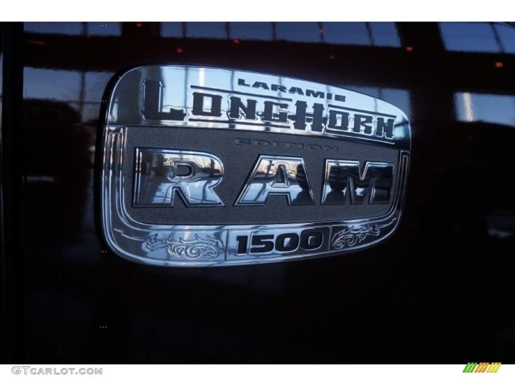 2015 1500 Laramie Long Horn Crew Cab 4x4 - Western Brown / Canyon Brown/Light Frost photo #6