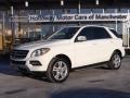 Arctic White 2013 Mercedes-Benz ML 350 BlueTEC 4Matic