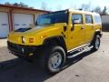 2005 Yellow Hummer H2 SUV #100521233