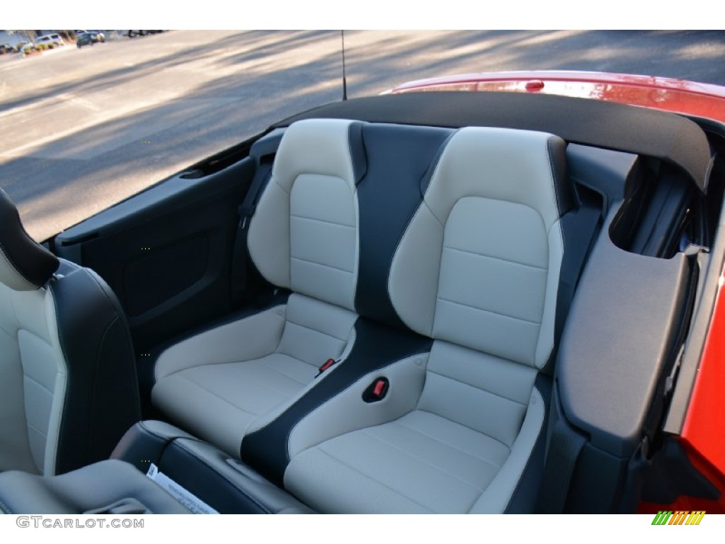 2015 Ford Mustang Gt Premium Convertible Rear Seat Photo