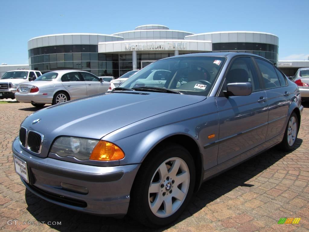 2001 Steel Blue Metallic Bmw 3 Series 325i Sedan 10053784