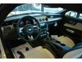 2015 Ford Mustang 50th Anniversary Cashmere Interior Prime Interior Photo