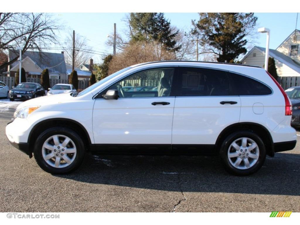 2011 CR-V SE 4WD - Taffeta White / Gray photo #6