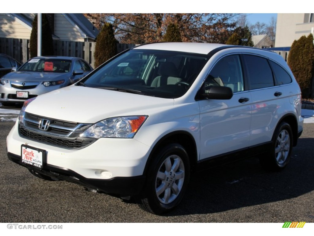 2011 CR-V SE 4WD - Taffeta White / Gray photo #7