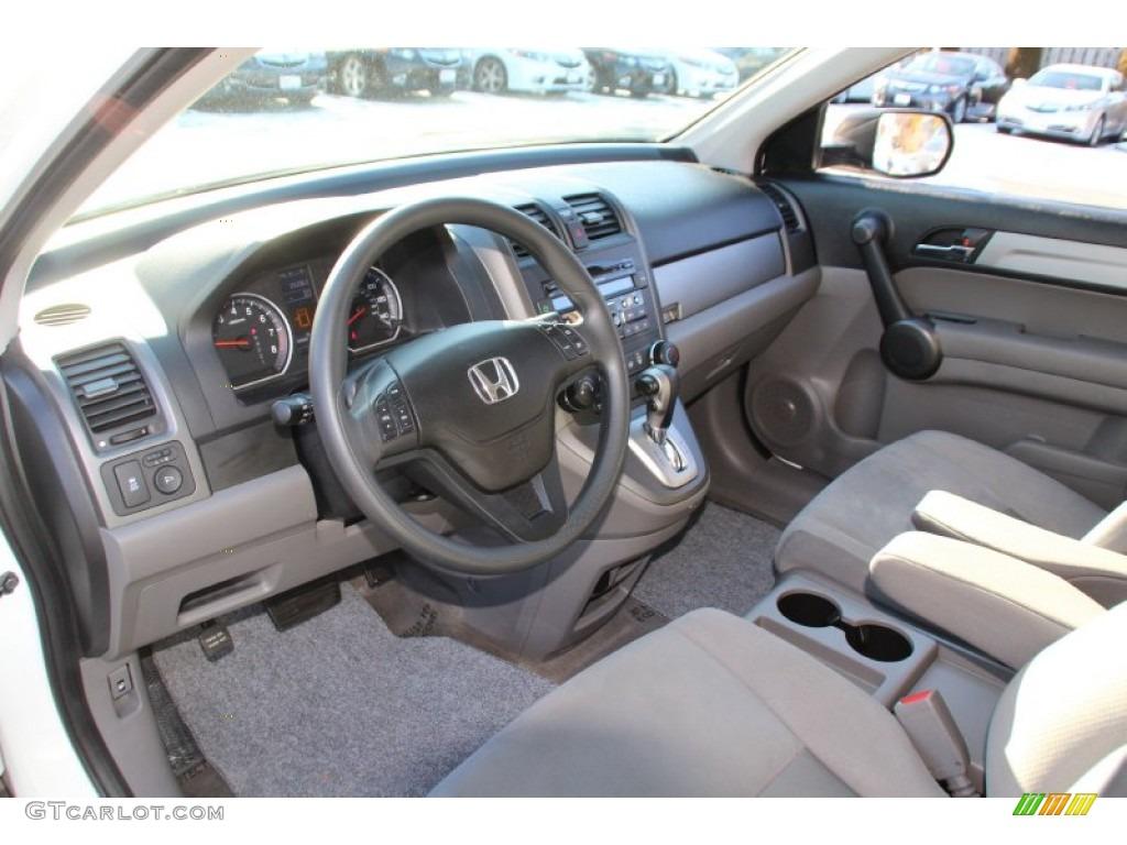 2011 CR-V SE 4WD - Taffeta White / Gray photo #11