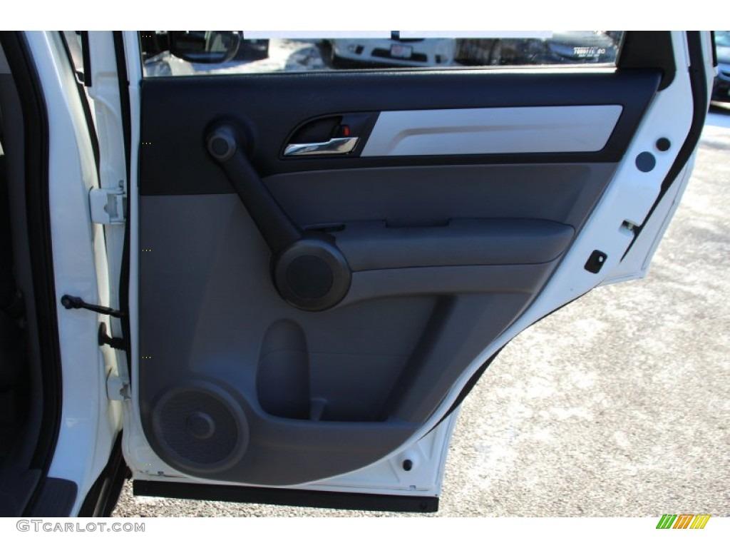 2011 CR-V SE 4WD - Taffeta White / Gray photo #23