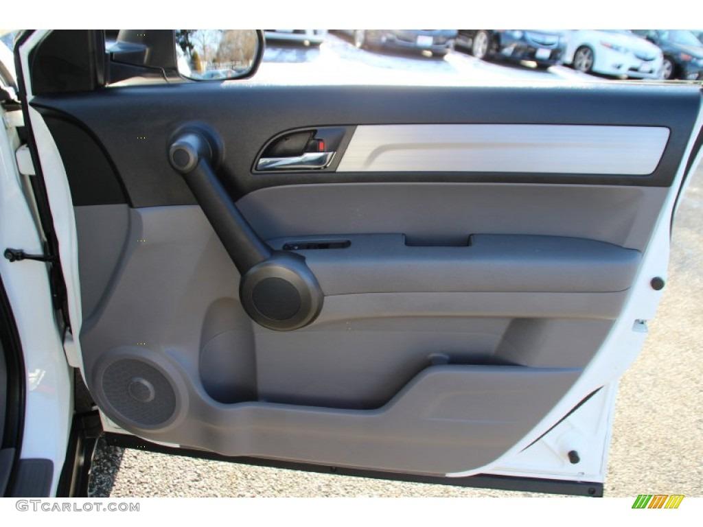 2011 CR-V SE 4WD - Taffeta White / Gray photo #25