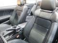 2015 Ford Mustang 50 Years Raven Black Interior Front Seat Photo