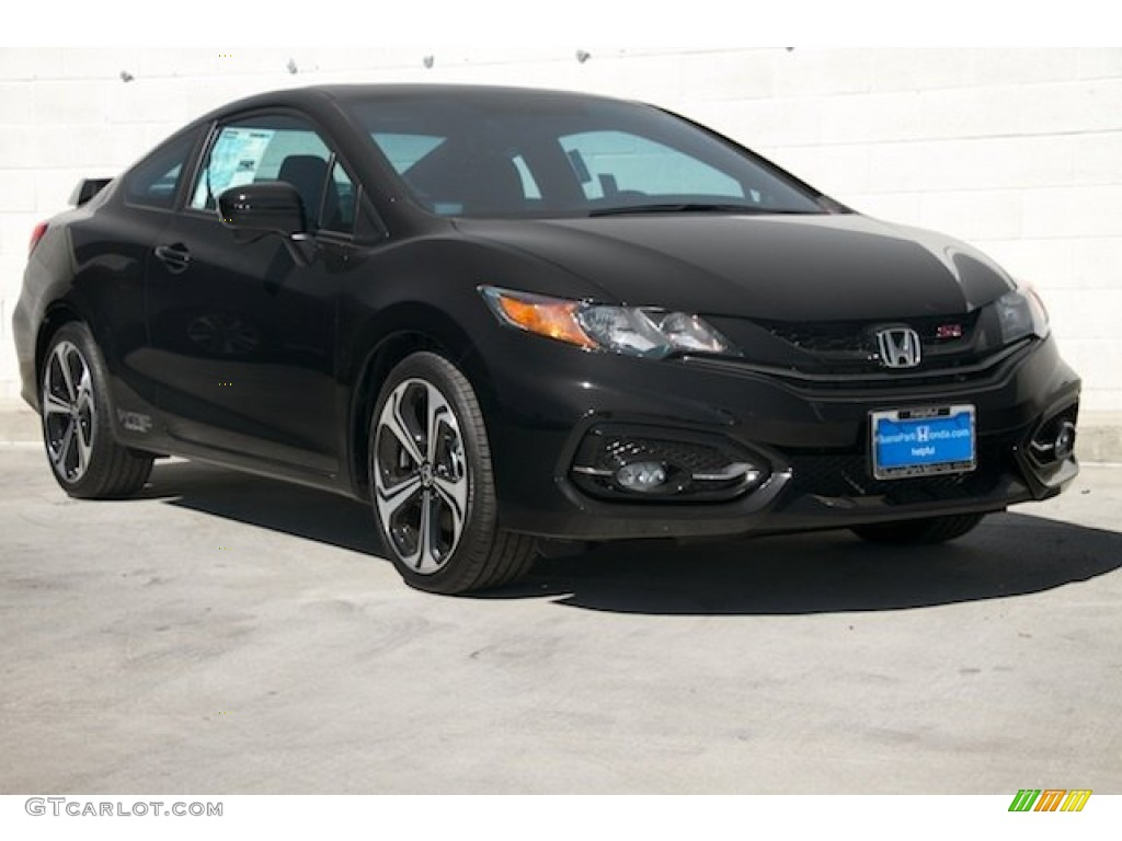 2015 crystal black pearl honda civic si coupe 100593167