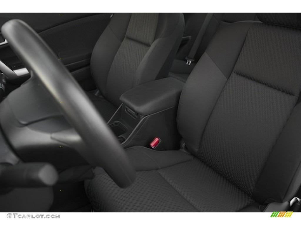 2015 Civic LX Coupe - Modern Steel Metallic / Black photo #13