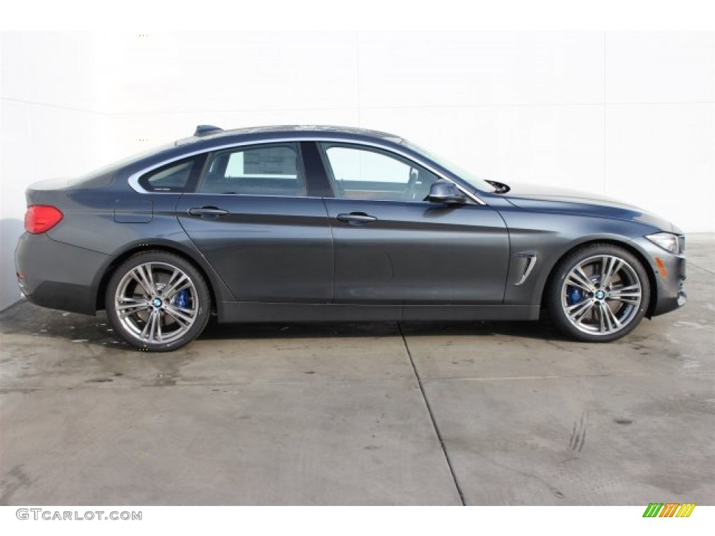 mineral grey metallic 2015 bmw 4 series 435i gran coupe. Black Bedroom Furniture Sets. Home Design Ideas