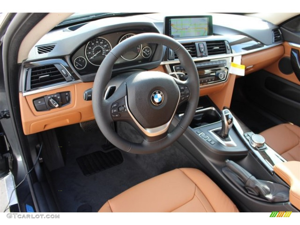 Saddle Brown Interior 2015 BMW 4 Series 435i Gran Coupe Photo 100639939