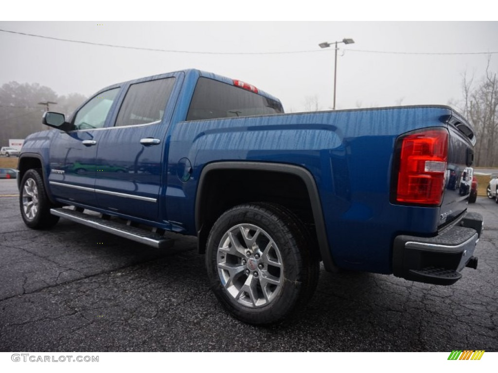 2015 stone blue metallic gmc sierra 1500 slt crew cab 100636954 photo 5 car. Black Bedroom Furniture Sets. Home Design Ideas
