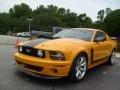 2007 Grabber Orange Ford Mustang Saleen Parnelli Jones Edition  photo #7