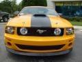 2007 Grabber Orange Ford Mustang Saleen Parnelli Jones Edition  photo #8