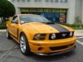 2007 Grabber Orange Ford Mustang Saleen Parnelli Jones Edition  photo #9