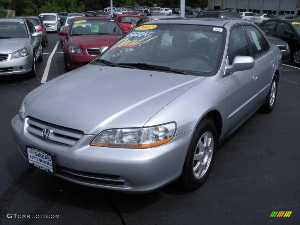 2002 satin silver metallic honda accord se sedan 10050398 for Grey honda accord