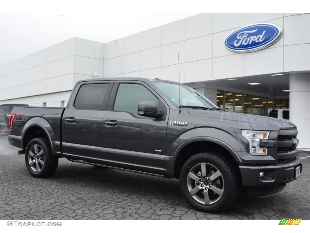 2015 magnetic metallic ford f150 lariat supercrew 4x4 100672462 photo 8 car. Black Bedroom Furniture Sets. Home Design Ideas