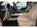 Medium Light Camel Interior Photo for 2015 Ford F150 #100685964