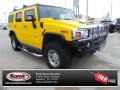 2007 Yellow Hummer H2 SUV #100672596