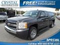 Taupe Gray Metallic 2010 Chevrolet Silverado 1500 LS Extended Cab