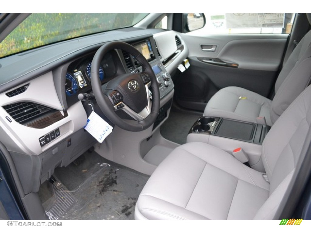 Ash Interior 2015 Toyota Sienna XLE AWD Photo #100728077