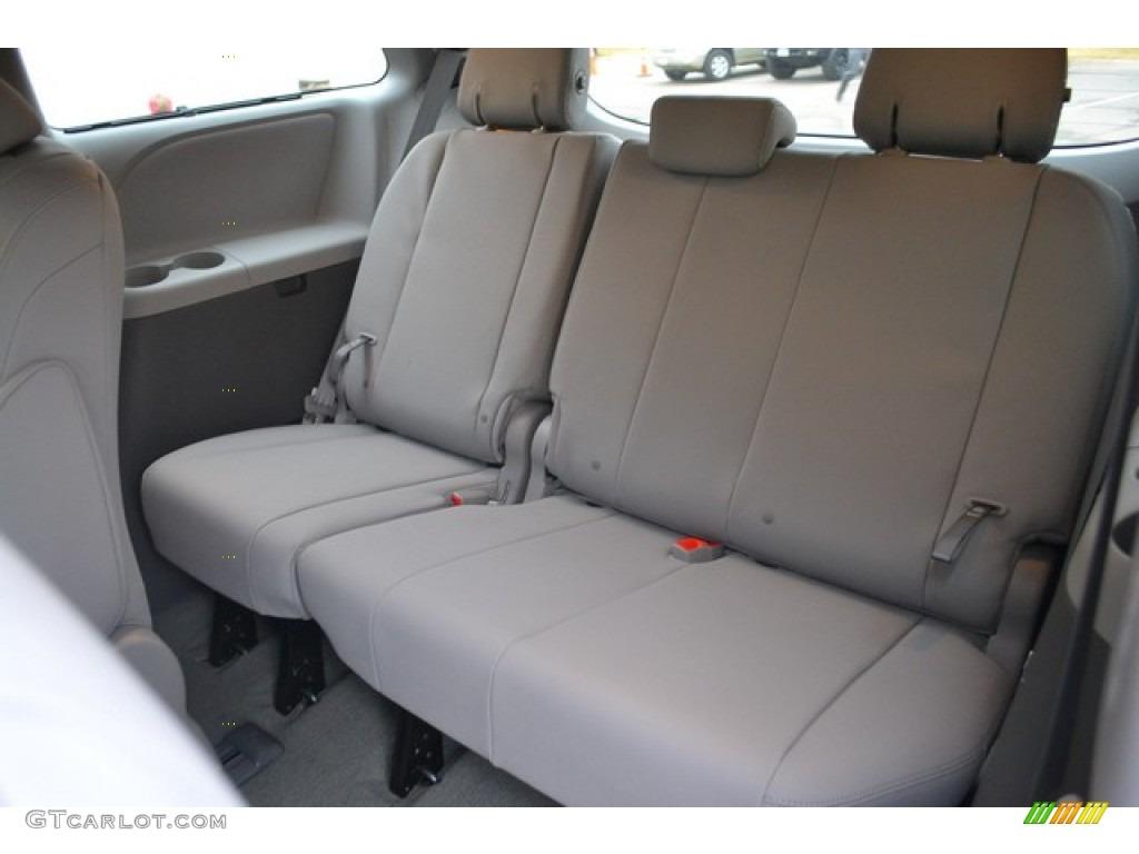 Ash Interior 2015 Toyota Sienna XLE AWD Photo #100728143