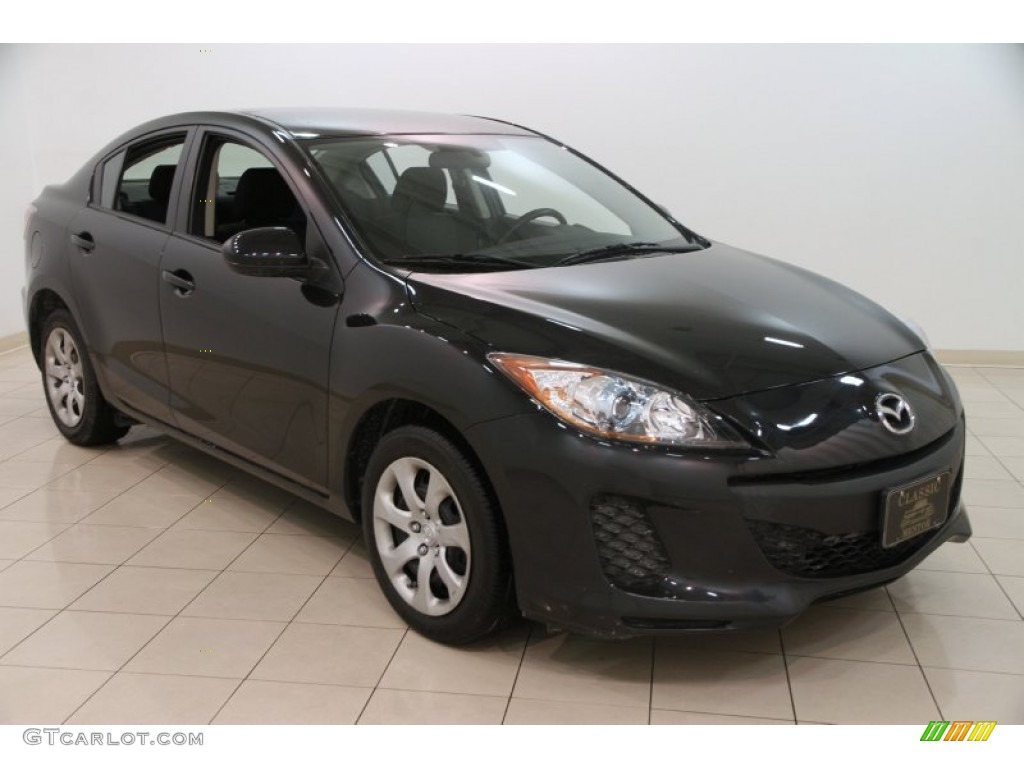 2013 Black Mica Mazda Mazda3 I Sport 4 Door 100715395 Gtcarlot Com Car Color Galleries