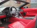 2008 Murcielago LP640 Roadster Red Interior
